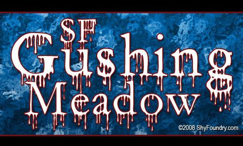 SF Gushing Meadow font
