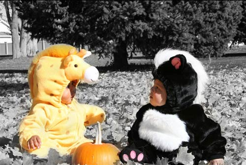 Very Attractive Baby Halloween Photography