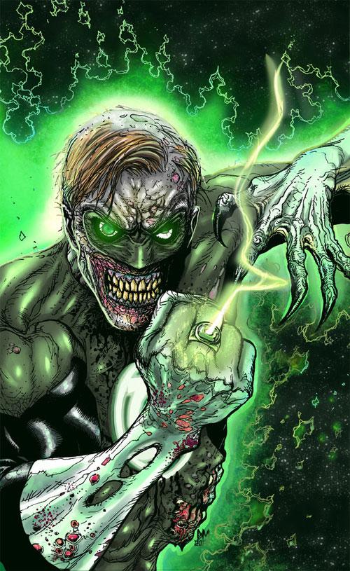 zombie green lantern