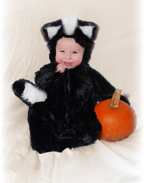 Enchanting Baby Halloween Photography