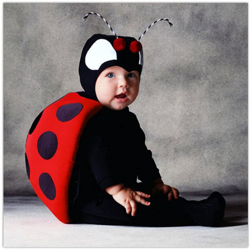 Interesting Made Baby Halloween Photography