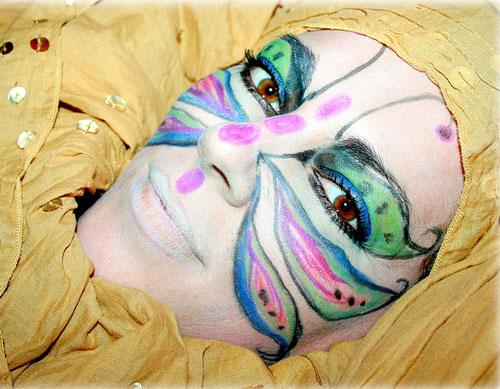 Glamorous Face Painting
