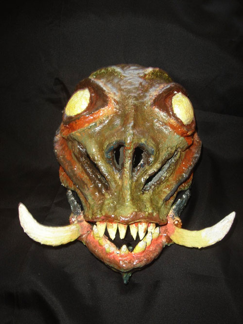Detailed Halloween Mask