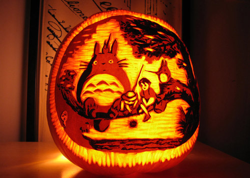 Very Fashionable Pumpkin Carvings