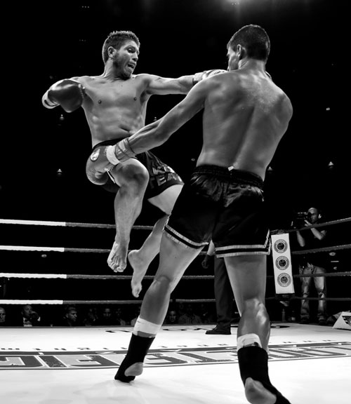 Fighters realm black white great sports photography