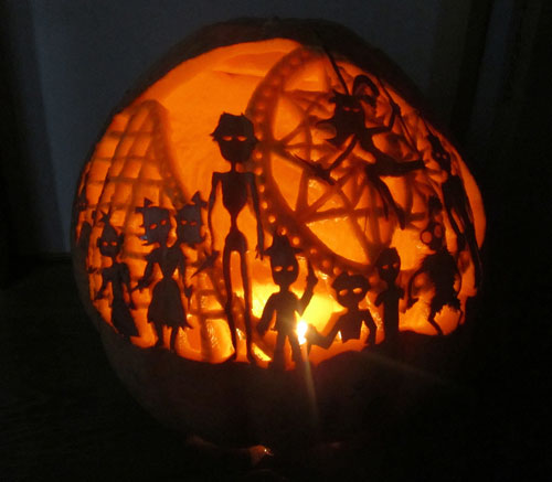 Very Lovely Pumpkin Carvings