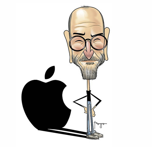 Amazing Steve Jobs Illustration