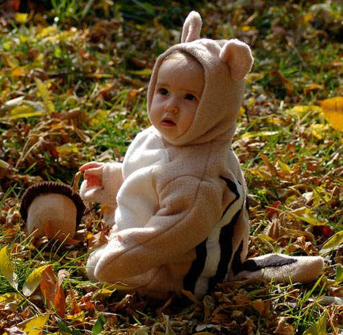Poised Baby Halloween Costumes