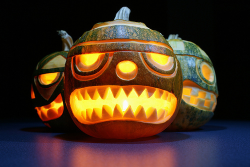 Beautifully Made Pumpkin Carvings
