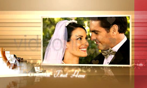 love story wedding album