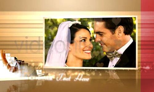 love story wedding album
