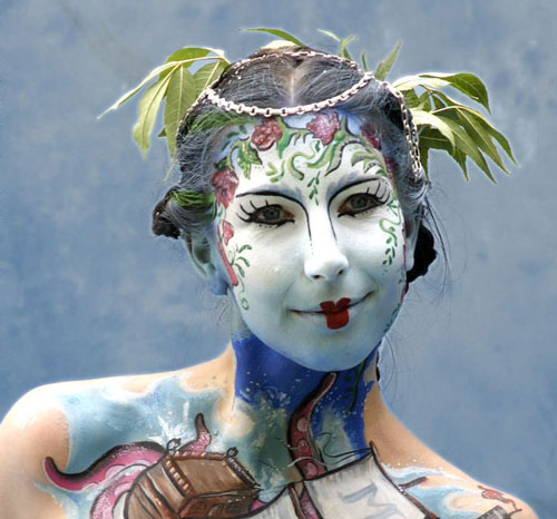 Magnificent Face Painting