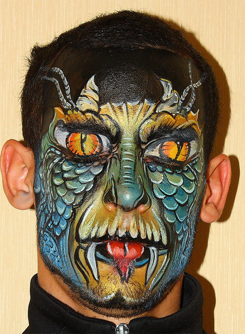 Very Nice Face Painting