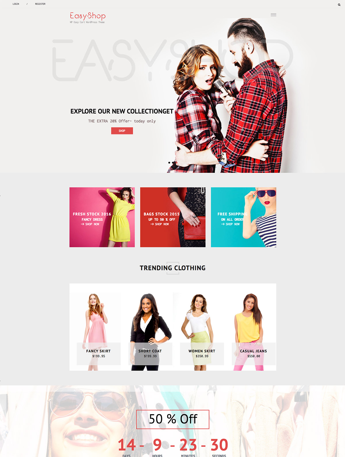 easycart wordpress theme
