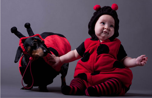 Cheerful Baby Halloween Costumes