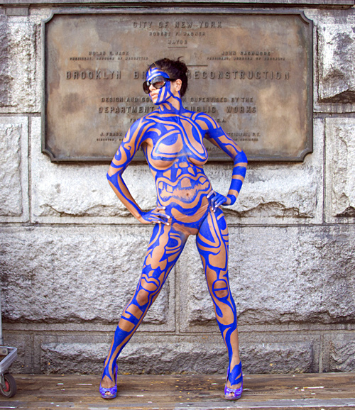 Sexy Body Paint Art