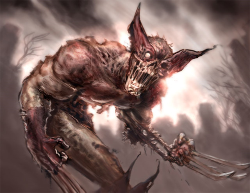 wolverine zombie