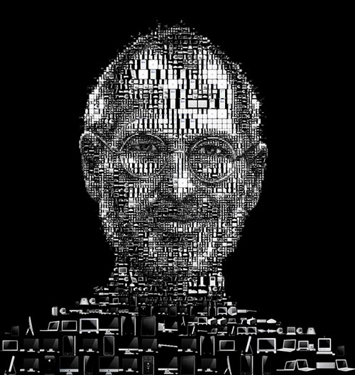Really Nice Steve Jobs Illustration
