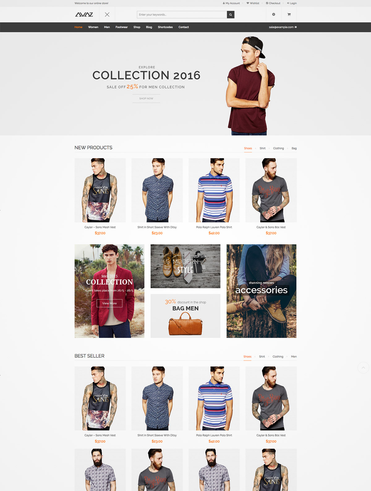 fashion themes ecommerce