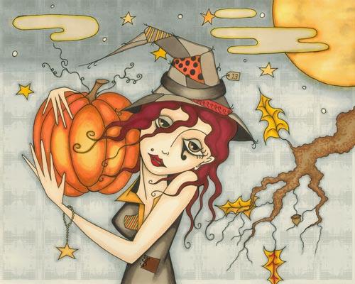 A Shivery Halloween Wallpaper
