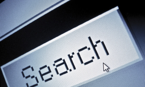 Mislaid search function