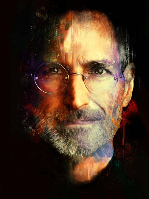 Astounding Steve Jobs Illustration