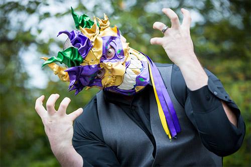 jester Halloween mask