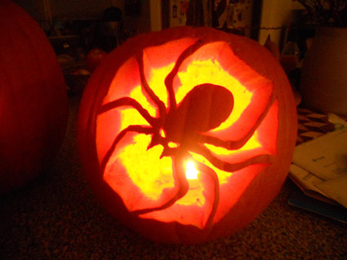 So! Adorable Pumpkin Carvings