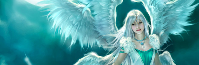34 Gratifying Angelic-Themed Illustration Artworks