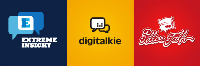 34 Impressive Examples of Talk Boxes Logo Designs