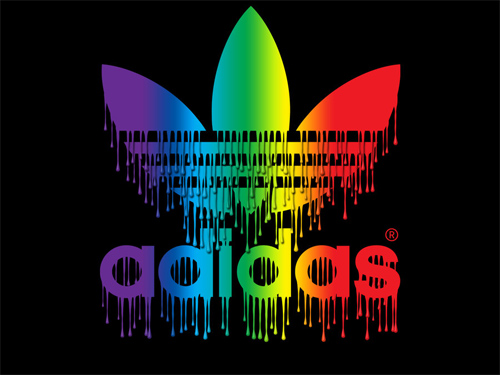 Adidas Spectrum Paint Drips