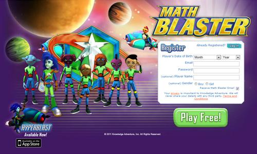 Have interactive games for older kids