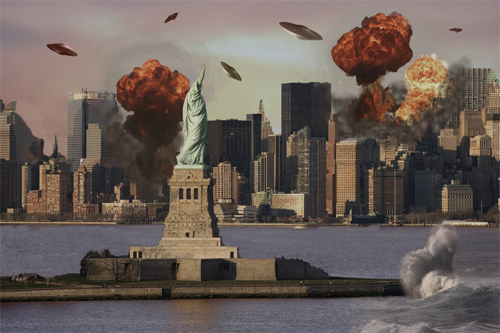 Matte Painting-New York