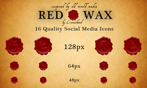 RedWax Social Media Icons