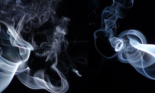 Enchanting smoke texture