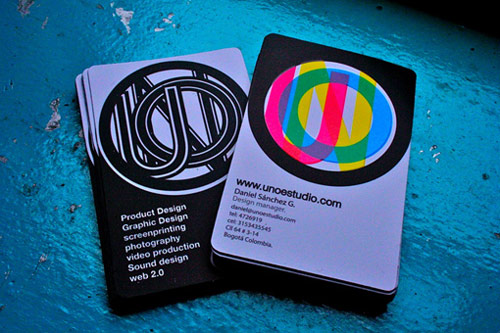 Engaging Colorful Business Card