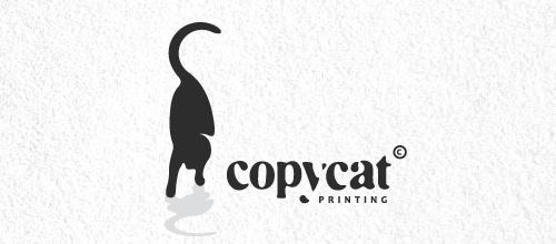 CopyCat Printing logo