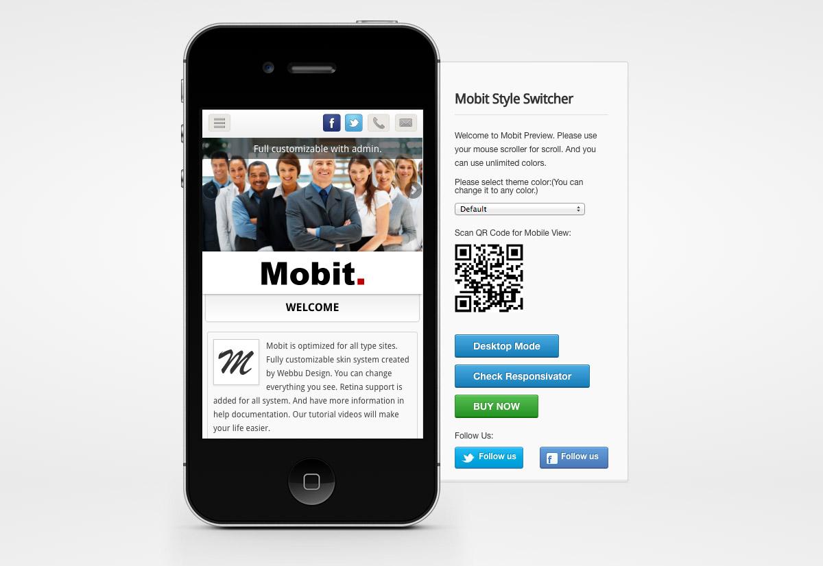 modern mobile themes