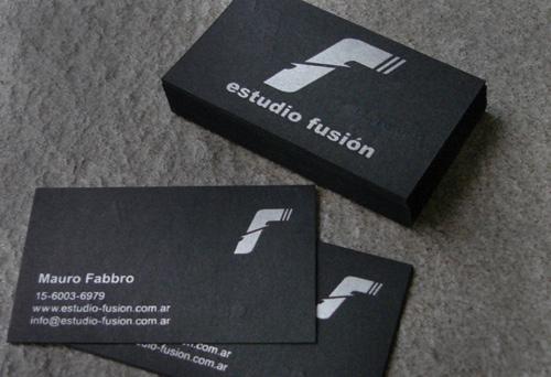 A showcase of classy black business card designs naldz graphics fusion business card colourmoves