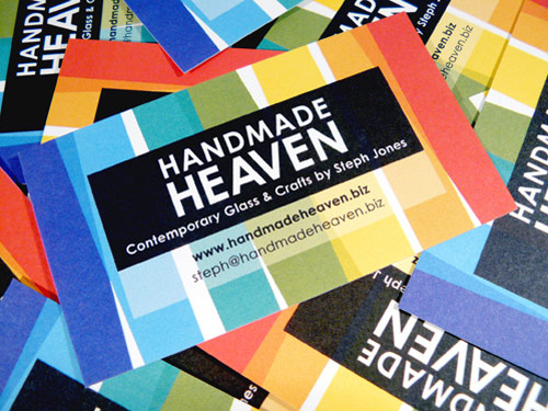 Expressive Colorful Business Card