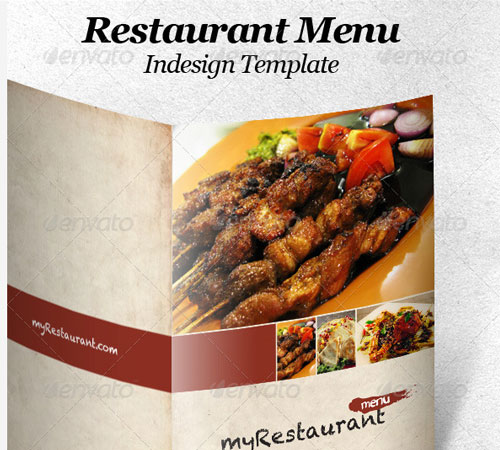 Restaurant Menu Indesign Template