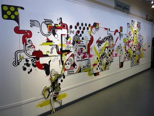 Incredible Mural Paint Art
