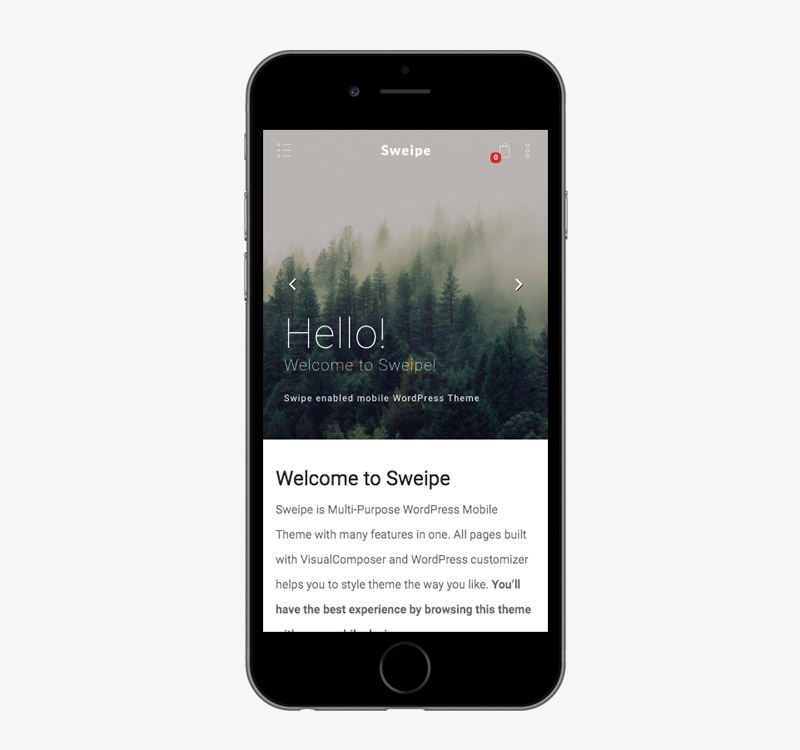 responsive wordpress mobile