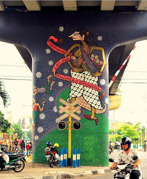 Readily Creative Mural Paint Art