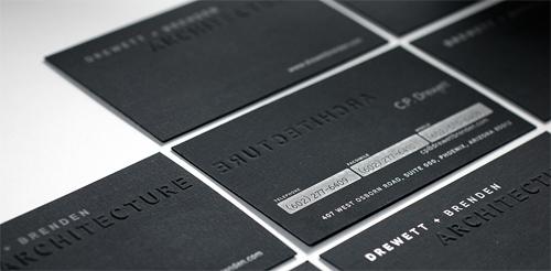 Drewett + Brenden Business Card
