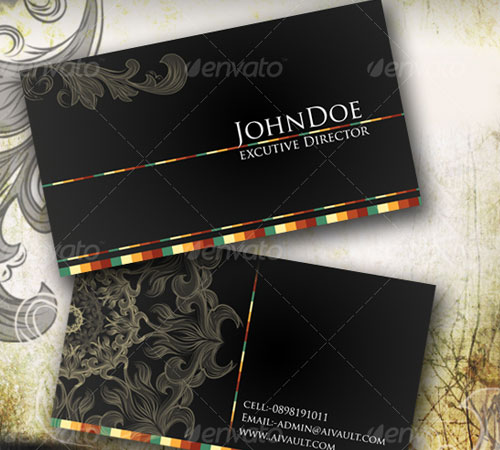 Classical Business Card