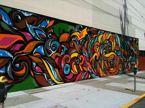 Pretty Nice Mural Paint Art