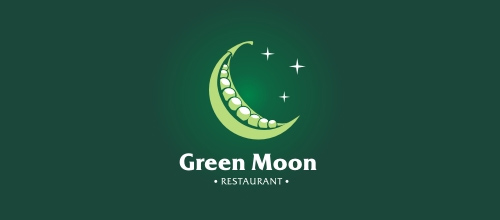 Green Moon logo