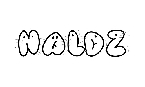 animal free kiddy fonts
