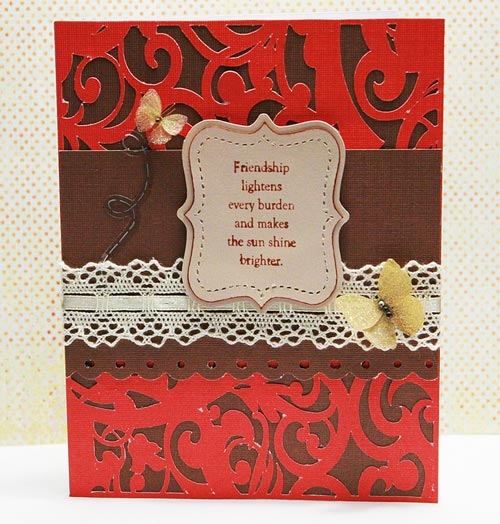 In demand friendship card